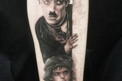 chaplin tattoo convention roma fabio torti