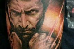 wolverin x men tattoo fabio torti