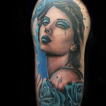 Tattoo Napoli Chicano Donna Fabio Torti Soft Tattoo
