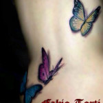 Fabio Torti Tattoo donna farfalle Napoli SOFT Tattoo