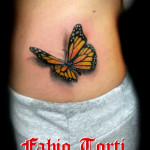 Fabio Torti Tattoo Donna farfalla Napoli SOFT Tattoo