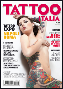 Copertina Tattoo Life Fabio Torti Soft Tattoo